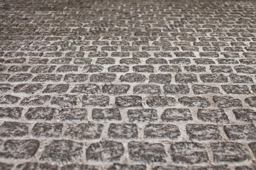 Брусчатка гранитная - дорога на века