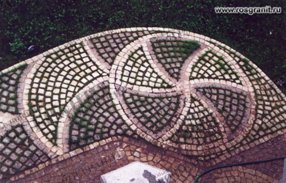 Мозаичное мощение
