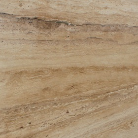 Травертин Бежевый (Тravertine Beige) cлэб полированный размером 2930х1160х30 мм