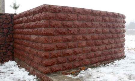 Лезники скала размером 300х150х60 мм (30+30 мм)