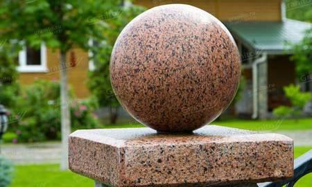 Накрывные крышки из натурального камня